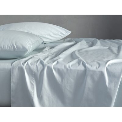 Sateen Duvet Cover Size: Full/Queen, Color: Misty Ocean