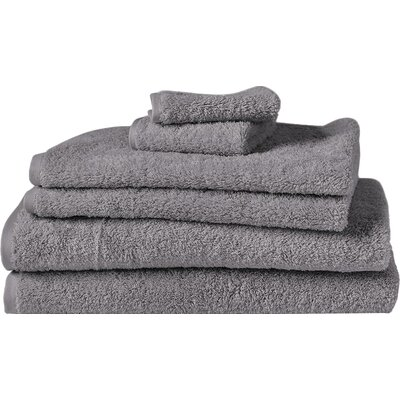 Cloud Loom Bath Towel Color: Slate
