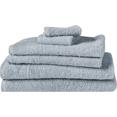 Cloud Loom Bath Towel Color: Palest Ocean