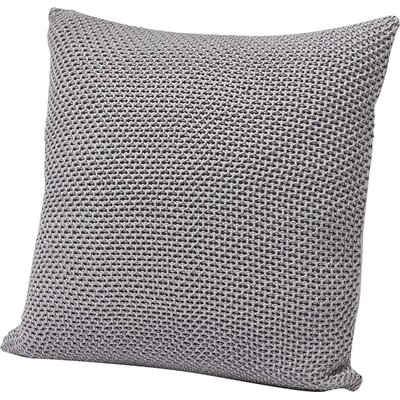 Karamiori Cotton Throw Pillow Cover Color: Pale Ocean