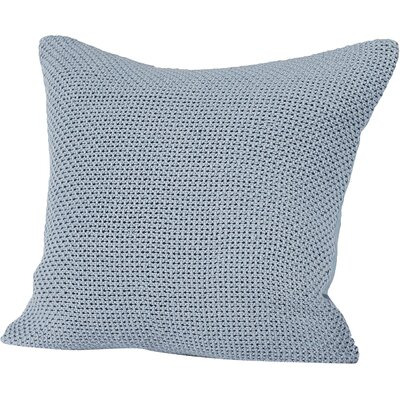 Karamiori Cotton Throw Pillow Cover Color: Alpine White