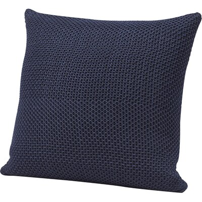 Karamiori Cotton Throw Pillow Cover Color: Indigo