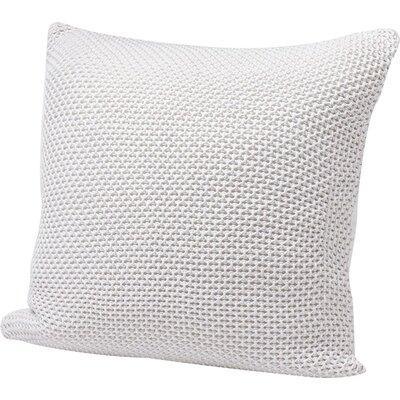Karamiori Cotton Throw Pillow Cover Color: Pewter