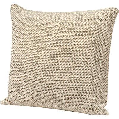Karamiori Cotton Throw Pillow Cover Color: Natural