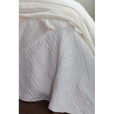Twilight Quilt Color: Pale Gray, Size: Full/Queen