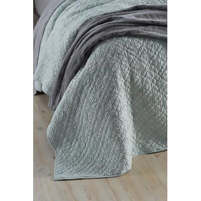 Twilight Quilt Size: King, Color: Misty Ocean