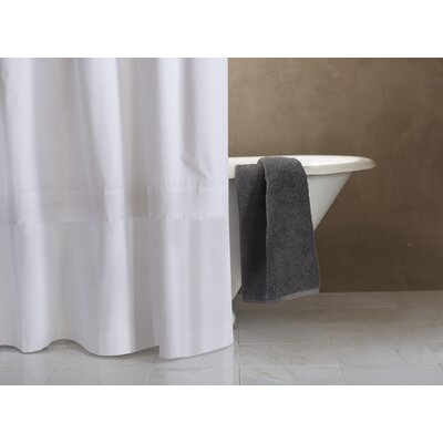 Lattice 100% Cotton Shower Curtain