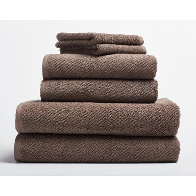 Air Weight Wash Cloth Color: Brown
