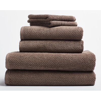 Air Weight Guest Hand Towel Color: Truffle