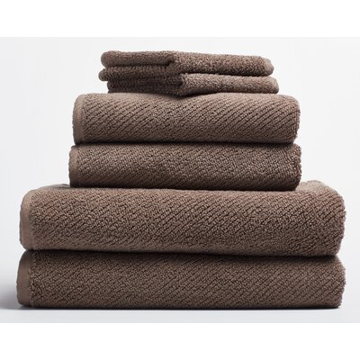 Air Weight Hand Towel Color: Truffle