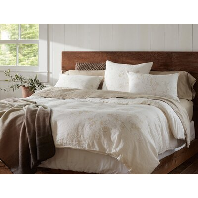 Botanical Duvet Cover Size: King