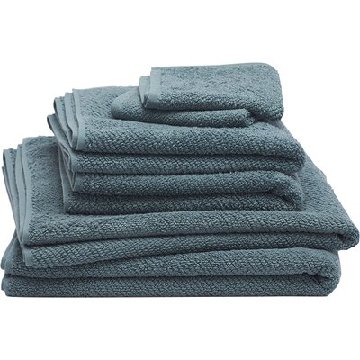 Air Weight 6 Piece Towel Set Color: Deep Dusty Aqua