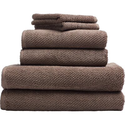 Air Weight Bath Sheet Color: Brown