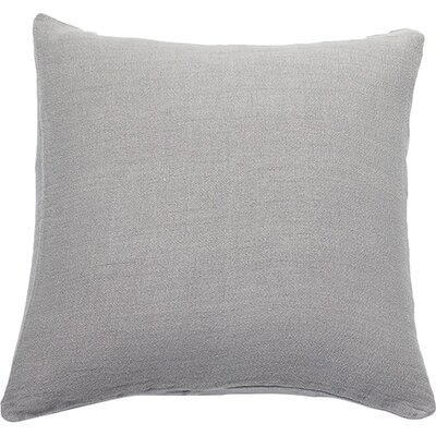 Larkspur Linen Pillow Cover Color: Mid Gray