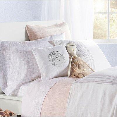Hedgehog Linen Throw Pillow