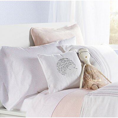 Cozy Cotton Pillow Cover Color: Alpine White