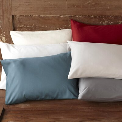Sateen Pillowcase Size: Standard / Queen, Color: Mid Gray