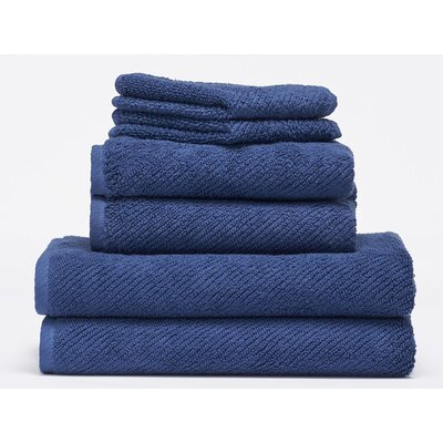 Air Weight 6 Piece Towel Set Color: Lake