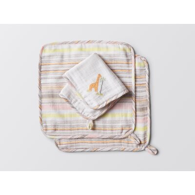 Giraffe Muslin Washcloth