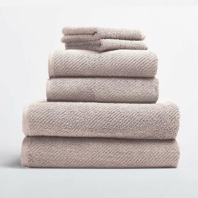 Air Weight 6 Piece Towel Set Color: Dune