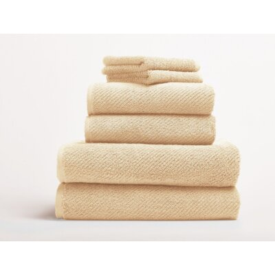 Air Weight Guest Hand Towel Color: Honey