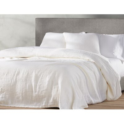 Larkspur Linen Coverlet Size: King