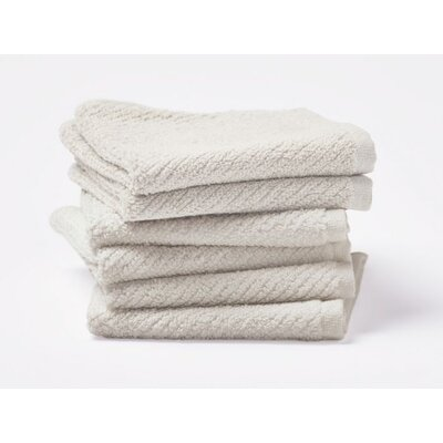 Air Weight Wash Cloth Color: Ivory
