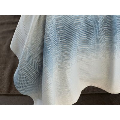 Strata Cotton Blanket Size: Twin, Color: Lake