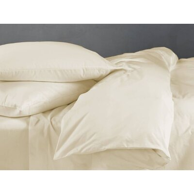 Supima Sateen 500 Thread Count 100% Cotton 4 Piece Sheet Set Color: Natural