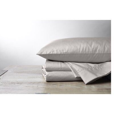 Organic 500TC Percale Pillowcase Size: King