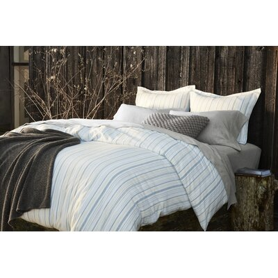 Cloud Brushed Flannel Duvet Cover Size: Full/Queen