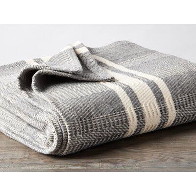 Cirrus Stripe Throw Color: Gray