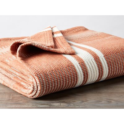 Cirrus Stripe Throw Color: Spice