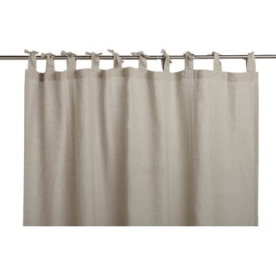 Breeze Linen Shower Curtain