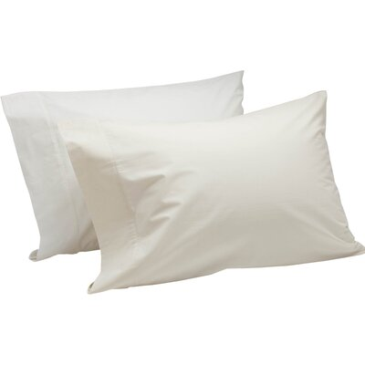Percale 300 Thread Count 100% Cotton Sheet Set Size: King, Color: Alpine White
