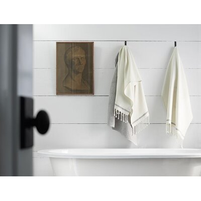 Mediterranean Hooded Towel Color: Pewter