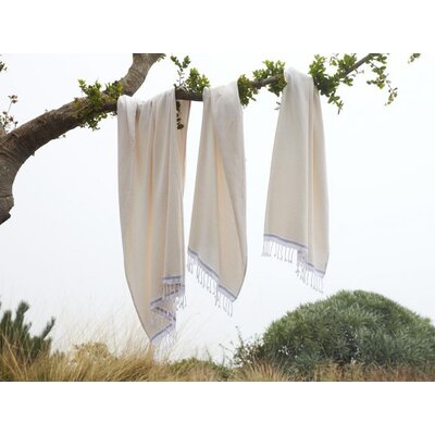 Mediterranean Hooded Towel Color: Undyed