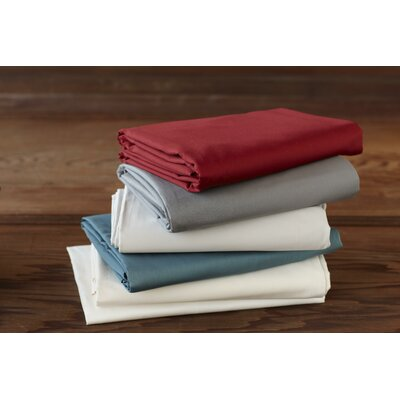 Sateen 300 Thread Count 100% Cotton Sheet Set Size: Full, Color: Mid Gray