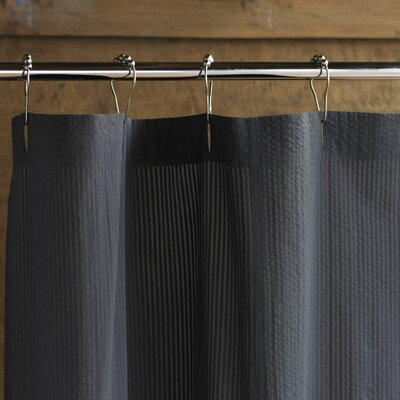 Low Price Coyuchi Seersucker Shower Curtain Color: Charcoal - Buy Low Price Coyuchi Seersucker Shower Curtain Color: Charcoal
