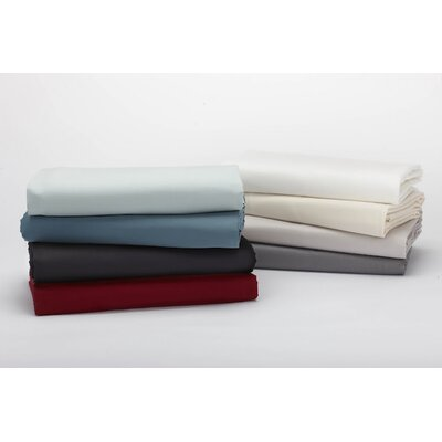 Sateen 300 Thread Count 100% Cotton Fitted Sheet Size: Queen, Color: Natural