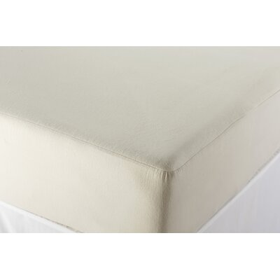 Bedding Essentials Organic Cotton Mattress Protector Size: Twin