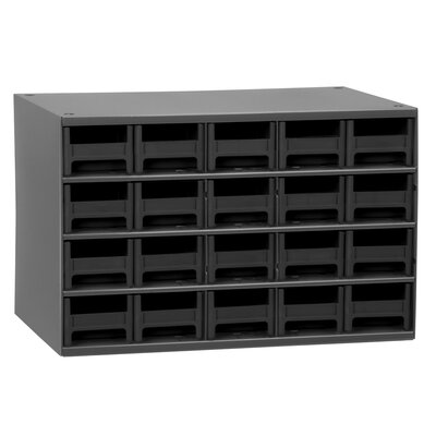 19-Series 20 Drawer Storage Chest 19320BLK