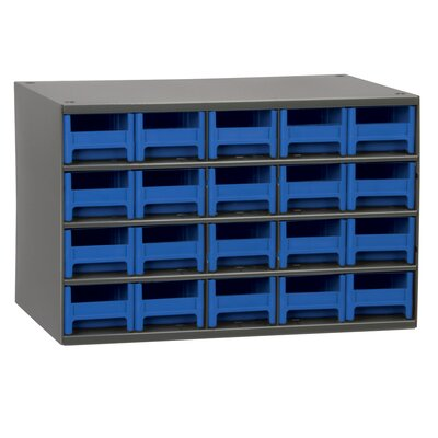 19-Series 20 Drawer Storage Chest 19320BLU