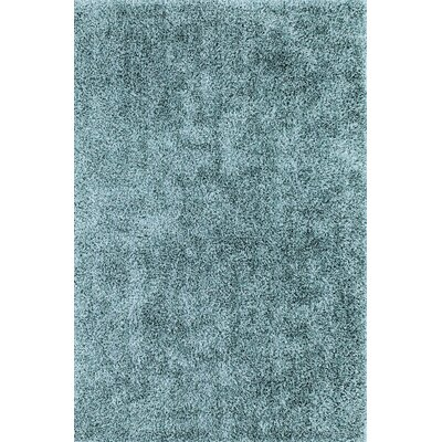 Nan Shag Light Slate Blue Area Rug Rug Size: Rectangle 36 x 56