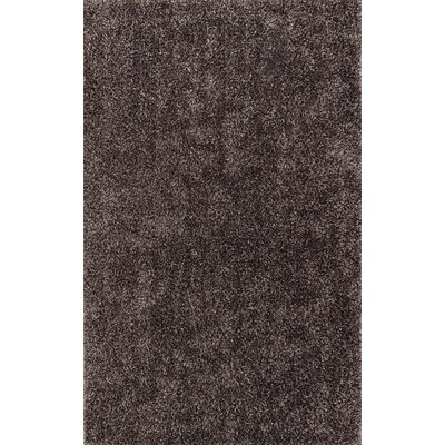 Nan Grey Shag Rug Rug Size: Rectangle 5 x 76