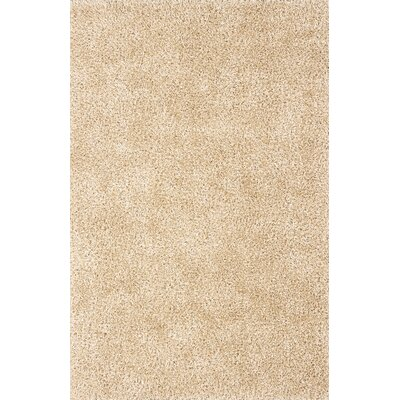 Nan Hand-Tufted Ivory Area Rug Rug Size: Rectangle 36 x 56