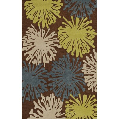 Ambiance Fudge Area Rug Rug Size: Rectangle 9 x 13
