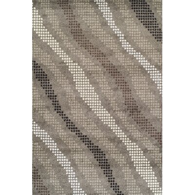 Noor Pewter Area Rug Rug Size: Rectangle 53 x 77