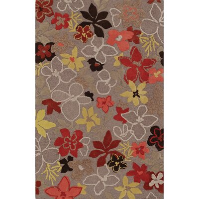 Ambiance Gray Area Rug Rug Size: Rectangle 9 x 13