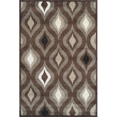 Royalston Espresso Area Rug Rug Size: Rectangle 710 x 107